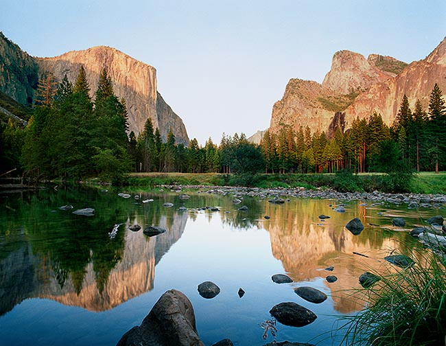 [© El Capitan Reflections by Judy Hill is described with Stock, Fine Art, Color, Cool, Warm, Water, Woods, Mountain, Horizontal, Summer, Spring, Blue, Brown, Gold, golden, Green, Gray, Air, Blue sky, Lake, Mt., Pond, Reflections, Rivers, sky, Tree, Mountains, National Park, Evergreen, Pine, Pines, California, Merced, El Capitan, Rock, Rocky hit 11190 rate ]